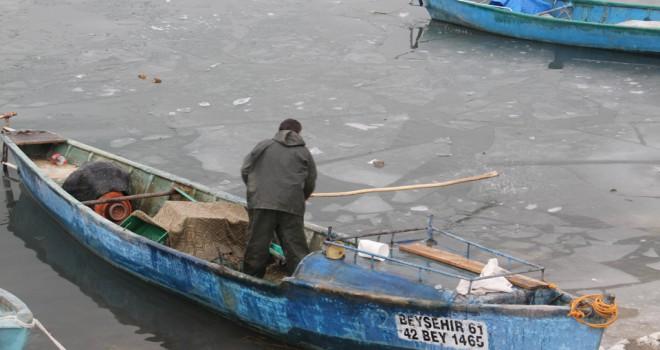 Balıkçılar mesaiye başladı