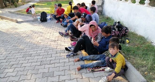 Çanakkale'de 55 mülteci yakalandı
