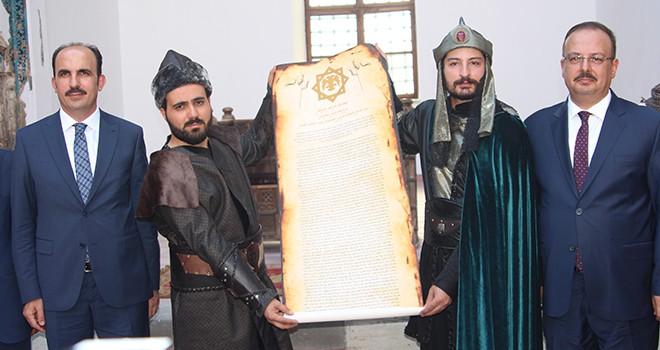 Konya'da tarih  yeniden canlandırıldı