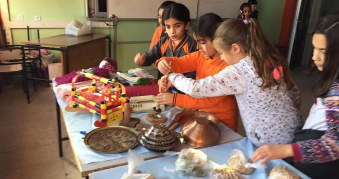 Karapınar'da yerli ürünler sergilendi