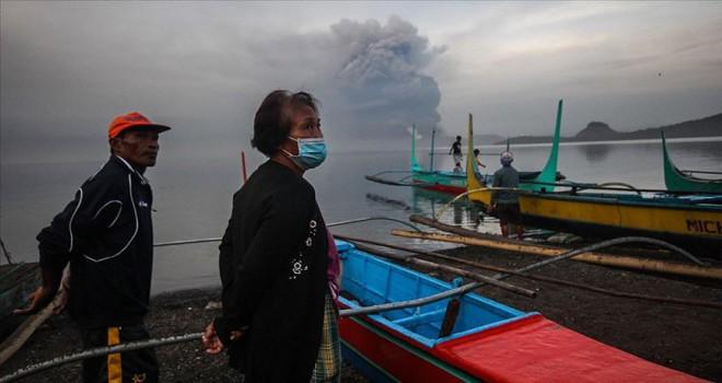 Yanardağı'nın patlaması sonucu 2 bin kişi hayatını kaybetti