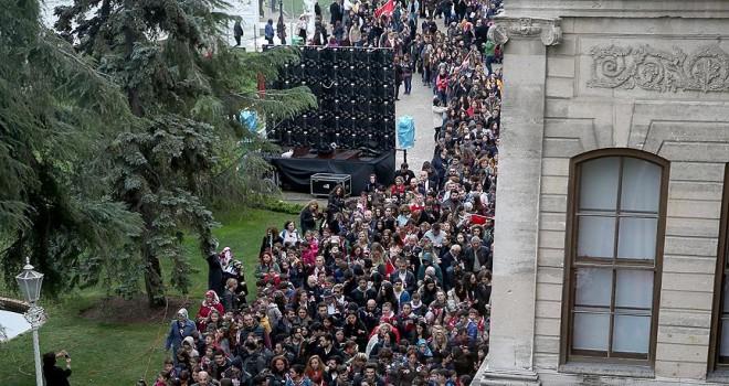 Milli Saraylar'ı 1 milyon 100 bin kişi gezdi