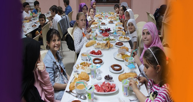ANADER Ramazan'ı çocuklarla yaşadı