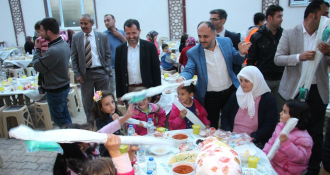 Üzümlü'de iftar coşkusu