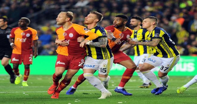 Spor Toto Süper Lig: Fenerbahçe: 1 - Galatasaray: 1