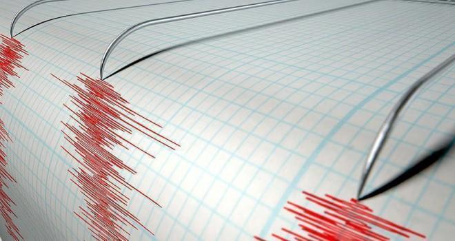 5,7 büyüklüğünde deprem