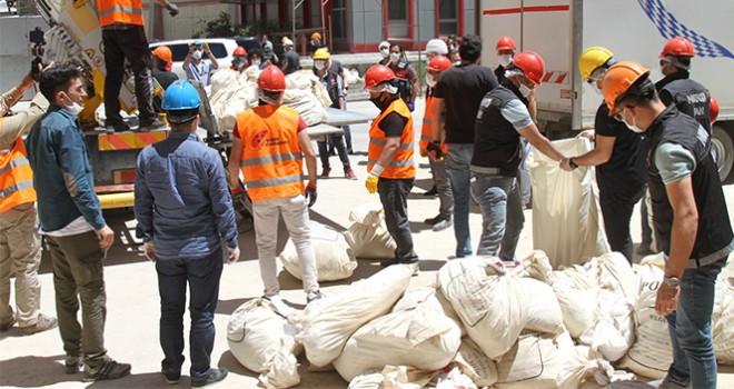 5,5 ton uyuşturucu imha edildi