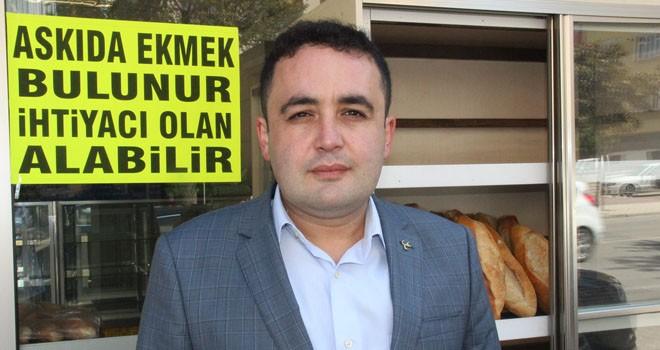 'Askıda Ekmek' projesine Konya'dan destek