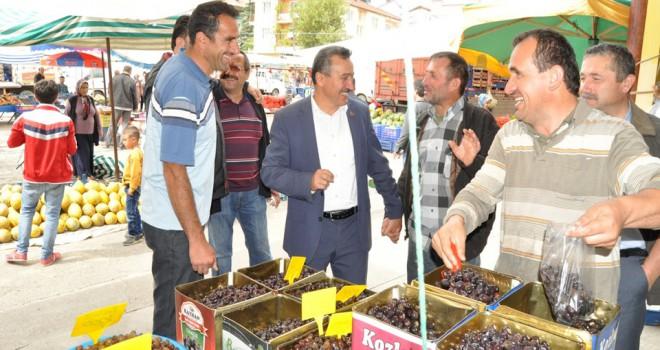 Seydişehir'e yeni semt pazarı