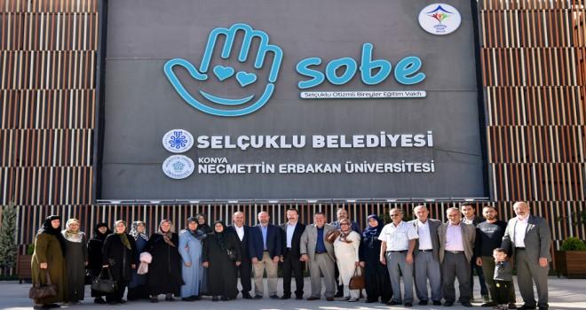Şehit aileleri SOBE'yi gezdi