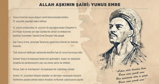 'Allah aşkının şairi: Yunus Emre'