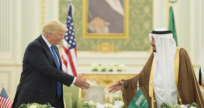 Kral Selman ile ABD Başkanı Trump telefonda görüştü