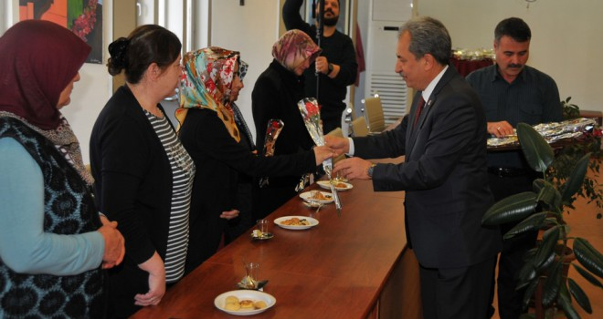 Akşehir Belediyesi'ndekadın personele izin