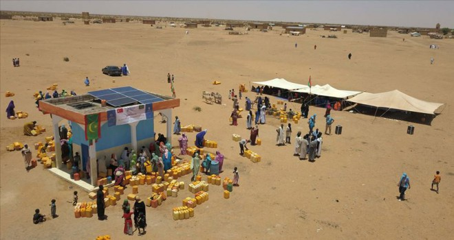 Moritanya'da 30 su kuyusu açıldı