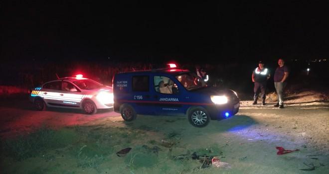 Park halindeki araca çarptı: 1 ölü, 7 yaralı