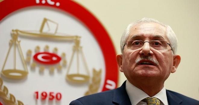 YSK Başkanı Güven'den 'İYİ Parti' açıklaması