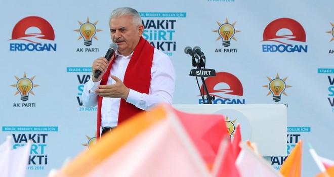 Yıldırım: Terör Türkiye'nin gündeminden çıkmıştır