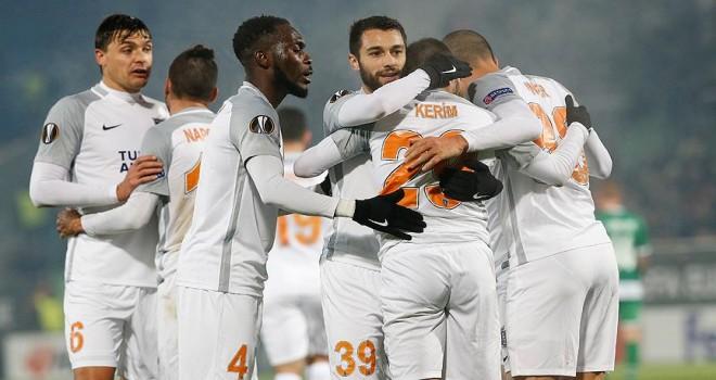 Başakşehir Avrupa Ligi'nde Ludogorets'i mağlup etti