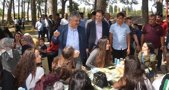 Ereğli'de gençler piknikte buluştu