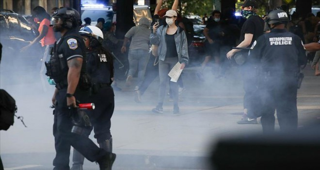 ABD'de protestolar pazar günü de devam etti