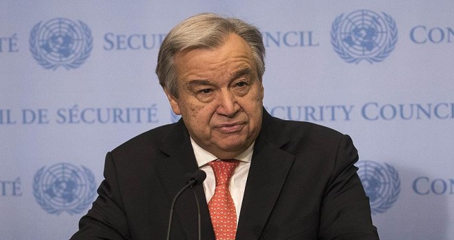 Guterres'ten Suriye çağrısı