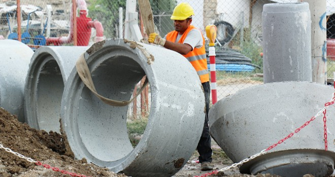 KOSKİ'den 244 km kanalizasyon şebekesi