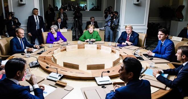 Trump'a G7 tepkisi