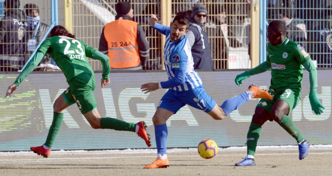 B.B. Erzurumspor: 1 - Atiker Konyaspor: 2