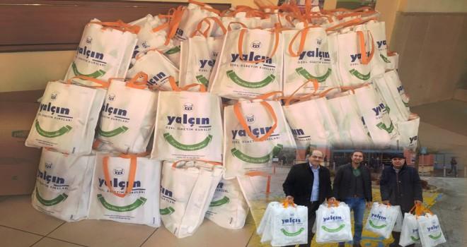 Yalçın Eğitim'denbez çanta dağıtımı