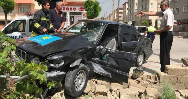 Akşehir'de kaza
