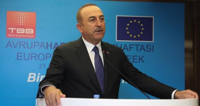 Bakan Çavuşoğlu: 'Biz AB'ye diyoruz ki birlikte yürüyelim, zorluklar varsa da birlikte aşalım'