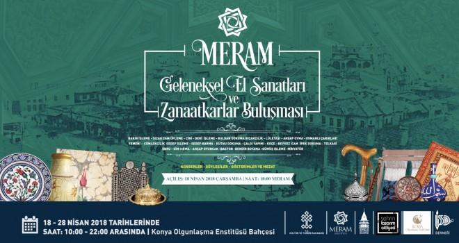 Meram'da sanat buluşması