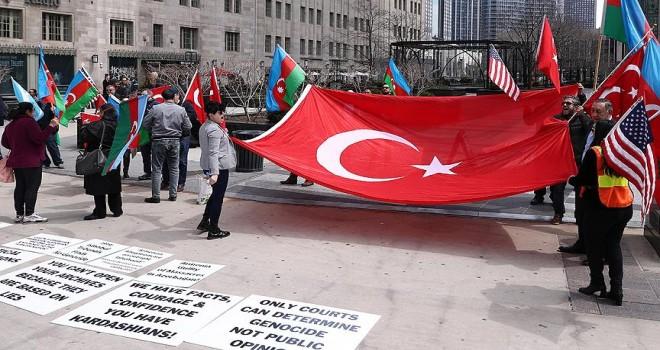 ABD'de 'Ermeni yalanlarına Hayır!' gösterisi