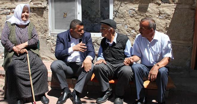 Kaymakam Kılınç'tan  hane ziyaretleri