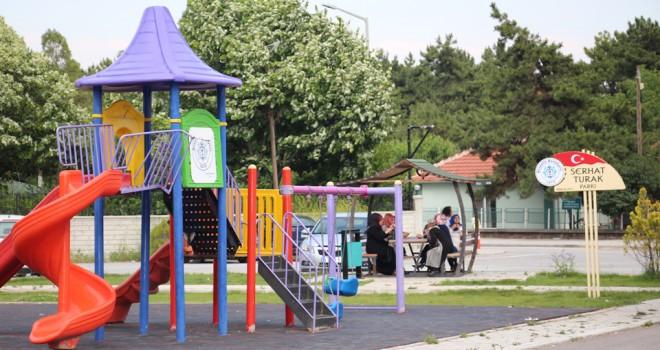 Serhat Turak Parkı açıldı