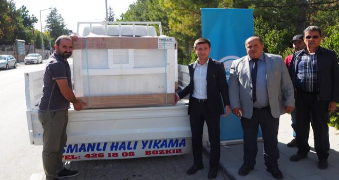 Bozkır'da bölge arıcılarına destek