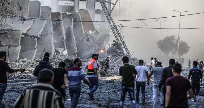 Gazze'de şehit sayısı artıyor