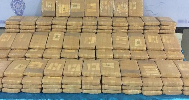 Yurt genelinde bir ayda 2 ton 439 kilogram eroin ele geçirildi