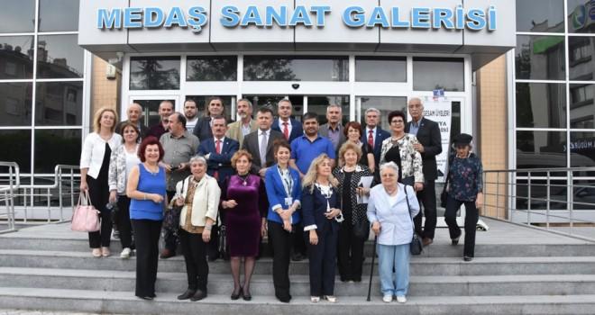 GESAM üyeleriKonya Sergisi açıldı