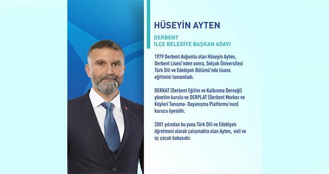 Derbent AK Parti adayı Hüseyin Ayten kazandı