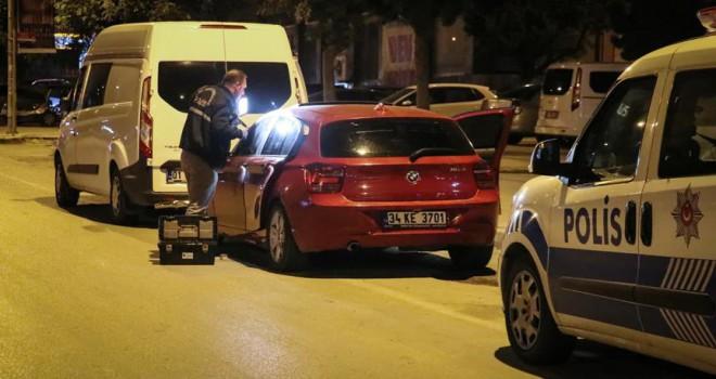 Düğünden sonra kiralık gelin arabasını çalarken yakalandı