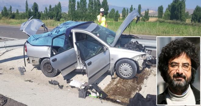 Gazeteci Cebenoyan trafik kazasında hayatını kaybetti