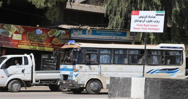 Afrin'de bulvarlara yeni isimler