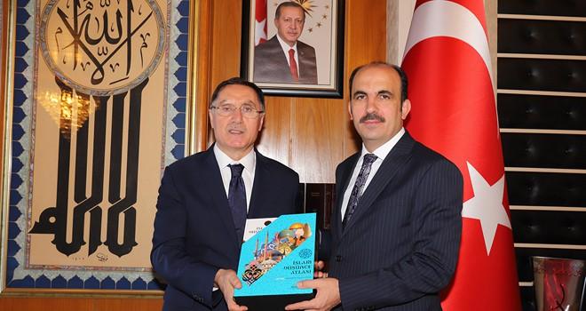 Malkoç, Başkan Altay'ı ziyaret etti