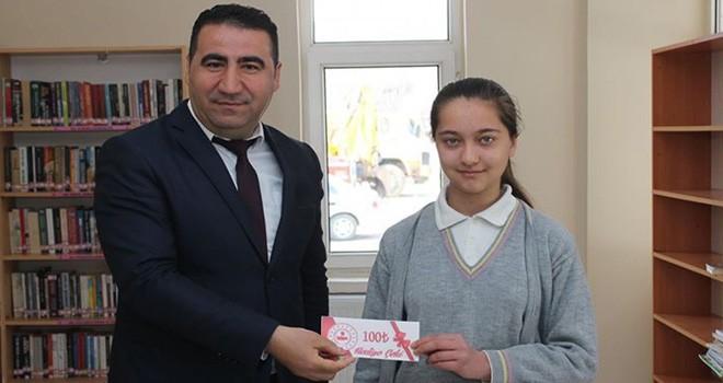Bozkır'da Kütüphane Haftası kutlanıyor