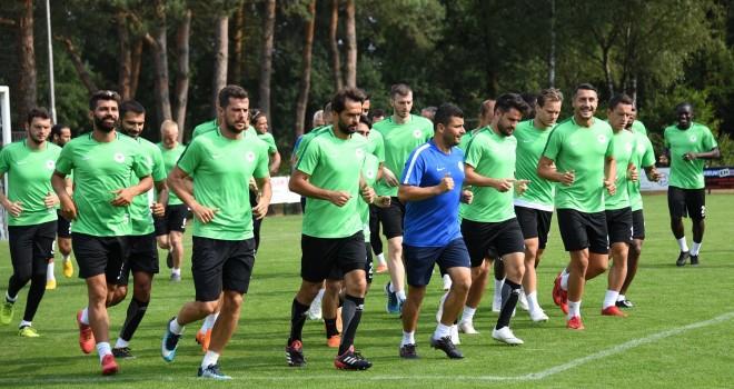 Konyaspor'dan tek antrenman