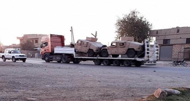 ABD, Menbiç-Fırat Kalkanı cephe hattını takviye etti