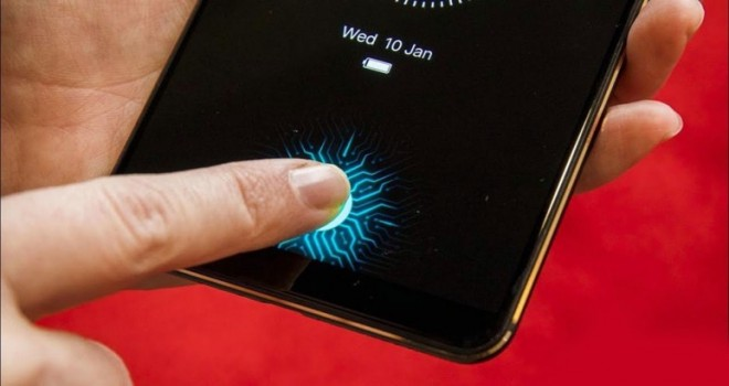 Galaxy S10  ekrandan okuyacak