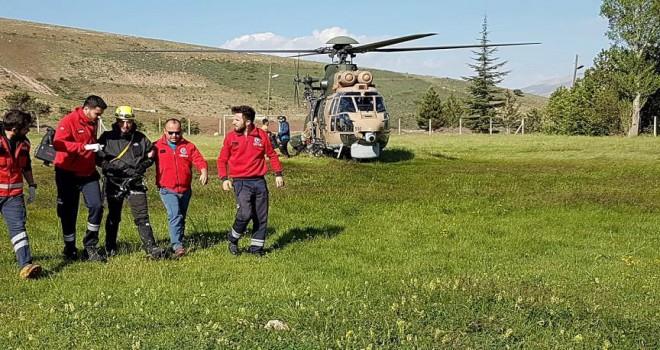 Dağı'nda mahsur kalan dağcılar kurtarıldı