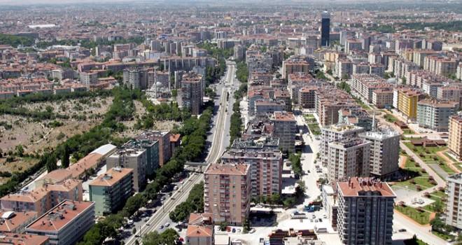 Konya'da konutsatışı Ocak'ta azaldı